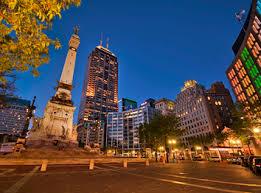Indianapolis Circle Of Lights Monument Circle Face Lift Set To Move Forward
