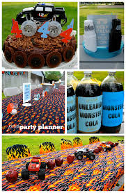 monster truck monster jam birthday party pro party planner