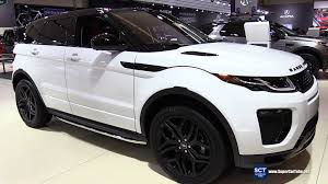 land rover hse 2016 2016 range rover evoque hse dynamic exterior and interior