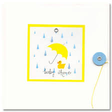 baby shower greeting card paperstyle