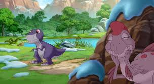 image chomper and ruby in journey of the brave png land before
