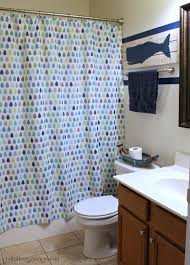 How To Paint Bathroom How To Paint Crisp Stripes Boys U0027 Bathroom Makeover In The