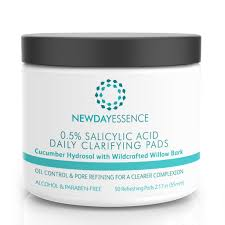 Caprylyl Capsicum by Amazon Com Salicylic Acid Daily Clarifying Peel Pads Blemish And