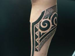 tribal tattoo by m crow tattoo