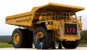 mining truck looks like the 195 ton caterpillar 789 caterpillar