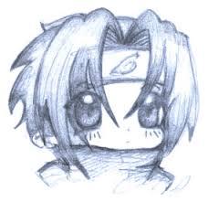chibi sasuke sketch by oliko on deviantart