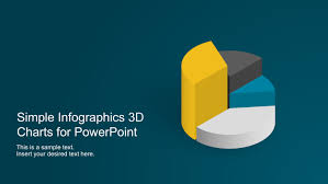 simple infographics 3d charts for powerpoint slidemodel
