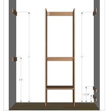 plans build closet organizer plans