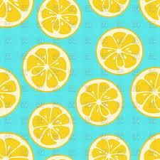 seamless lemon pattern cute seamless pattern with yellow lemon slices royalty free vector