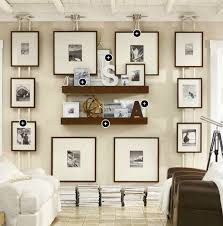 gallery wall idea using boat cleat and nautical from pottery