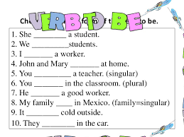 to be verb to be subject verb agreement lessons tes teach