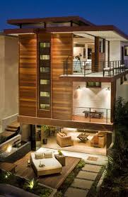 contemporary best modern home exterior garden design ideas set