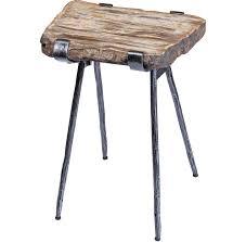 petrified wood end table petrified wood slab accent table santa barbara design center