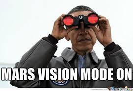 Obama Sunglasses Meme - space obama by johnny crash volcanic meme center