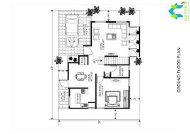 40 Square Feet 1 Bhk Floor Plan For 20 X 40 Feet Plot 800 Square Feet