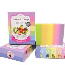 Sabun Thailand fruitamin soap 10 in 1 by wink white original thailand sabun