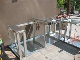 contemporary outdoor kitchen island kits on outdoor kitchen island
