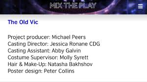 Casting Assistant Mix The Play Molly Syrett