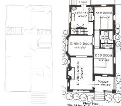 chicago bungalow floor plans sears house simply this