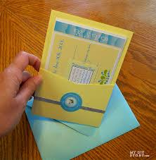 pocket invitation envelopes tropical destination wedding real diy wedding invitation cards
