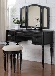 black makeup desk with drawers 10 best black vanity tables images on pinterest dressing tables