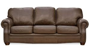 Furniture Leather Sofa Rockford Caribou Leather Sofa Gallery Furniture