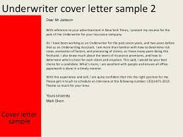 Insurance Underwriter Resume Underwriter Cover Letter 28 Images Insurance Underwriter Cover