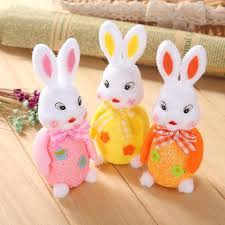 rabbit party 1pcs lovely easter egg rabbit bunny wedding party decoration easter