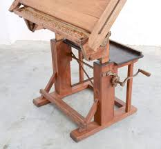 Drafting Table Pad Impressive Industrial Wooden Drafting Table