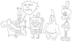 spongebob characters by cartoonkal on deviantart