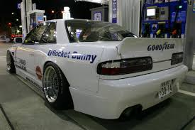 old nissan 240 rocket bunny nissan 240sx s13 silvia coupe v1 body kit rocket bunny