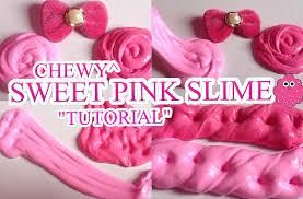 cara membuat slime menggunakan lem fox tanpa borax chewy sweet pink slime without borax slime act bahasa indonesia