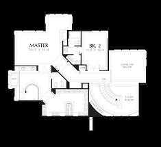 Floor Plans For Sloped Lots Mascord House Plan 2405 The Maxfield