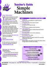 infographic simple machines kids discover