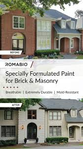 Painting Exterior Brick Wall - home design how to paint exterior brick walls youtube awful