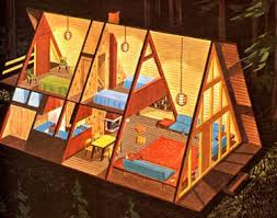 small a frame house 11 free a frame cabin plans from usda ndsu univ of maryland small