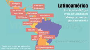 sueldos profesionales en mxico 2016 salario del community managers en españa y latinoamérica freelance