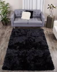 Rugs Black Black Fur Rugs Fur Source