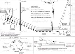 wiring diagrams 6 wire trailer plug 7 way trailer wiring harness