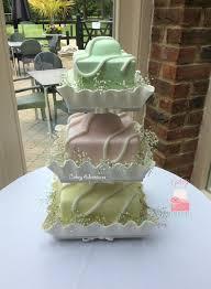 fancy wedding cakes fancy wedding cake with edible cases wedding