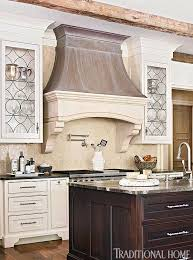 Distinctive Kitchen Cabinets With GlassFront Doors Traditional Home - Leaded glass kitchen cabinets