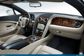 bentley interior back seat ausmotive com the new bentley continental gt