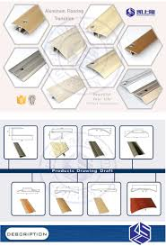 T Shaped Transition Strip by Bronze Anodized Door Threshold Aluminium Transition Strips Buy