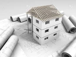 home drawing 3d plan drawing stock photo picture and royalty free image image