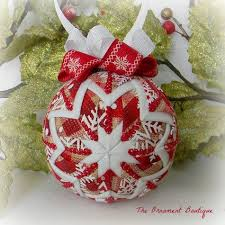 48 best ornaments quilted images on