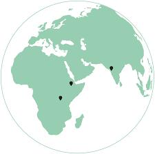 Rwanda World Map by Laterite