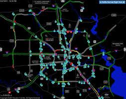 traffic map houston reports of inundate houston as harvey unleashes