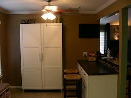 Freestanding Kitchen Kitchen White Wooden Free Standing Kitchen Cabinet And Also Dark