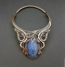 copper necklace images Copper necklace quot the swan princess quot shop online on livemaster jpg