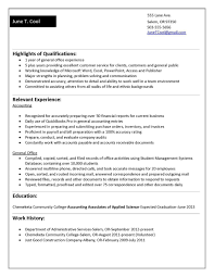 good resume no work experience student sample examples for format
